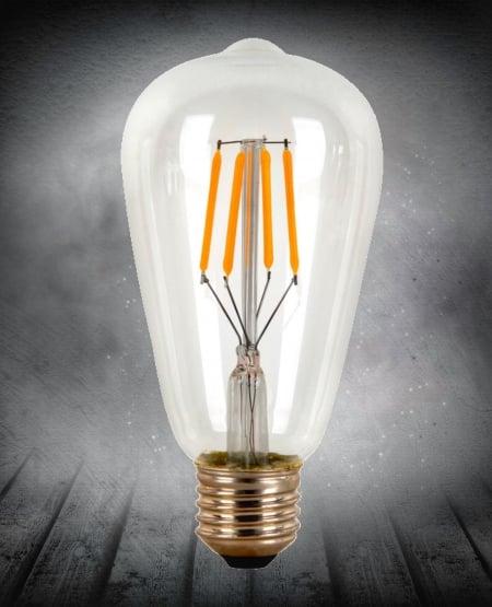 Лампа Эдисона LED ST64 4w 2200K