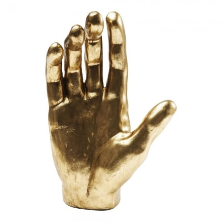 Deco Object Mano Gold