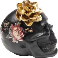 Декоративный объект Flower Skull 22cm