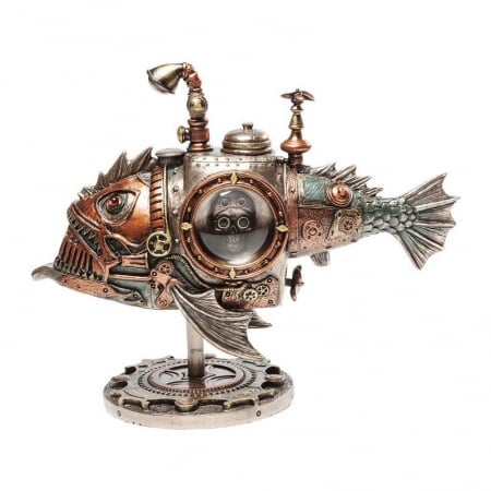 Deco Object Steampunk Submarine
