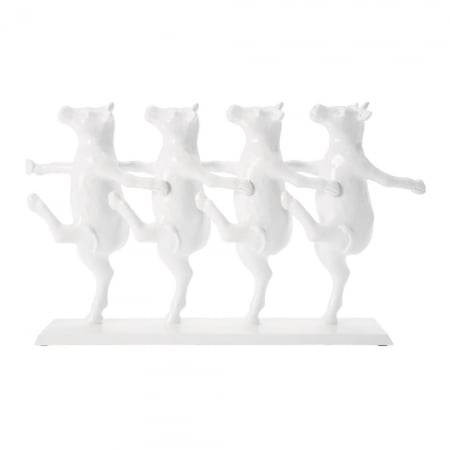 Deco Figurine Dancing Cows