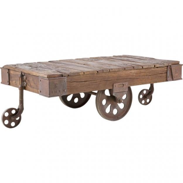 Журнальный столик Railway 135x80cm