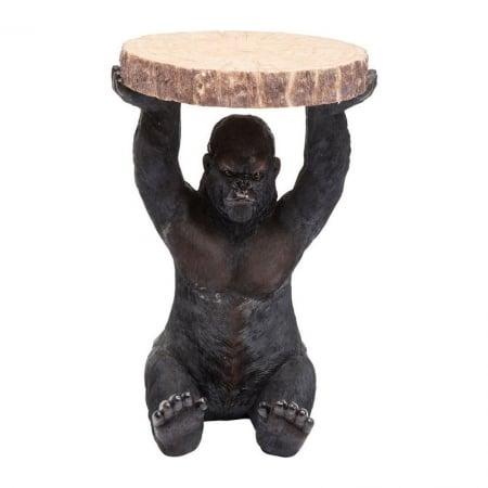 Side Table Animal Gorilla Ø37cm