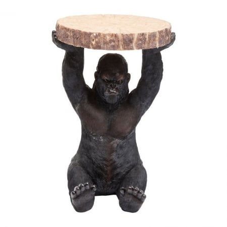 Side Table Animal Gorilla Ø37cm