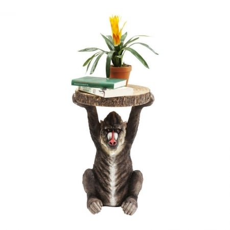 Side Table Animal Baboon
