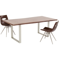 Стол Harmony Walnut Silver 180x90cm