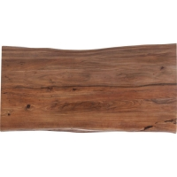 Стол Symphony Walnut Crude Steel 160x80cm