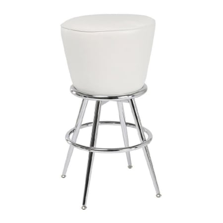 Bar Stool Lady Rock White