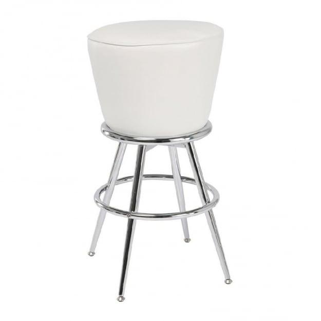 Барный стул Lady Rock White