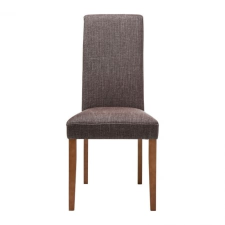 Padded Chair Econo Slim Rhythm Brown