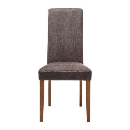Padded Chair Econo Slim Rhythm Brown