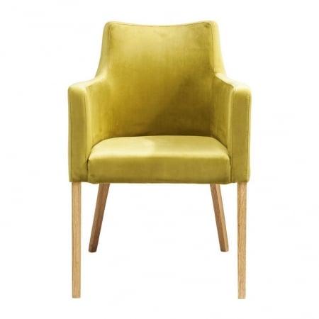 Chair with Armrest Mode Velvet Green