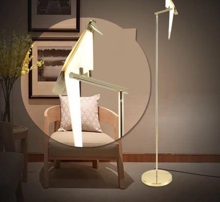 Торшер Bird h158cm