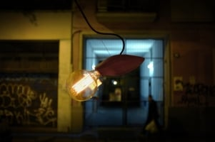 Подвес потолочный Swarm Lamp D10 L20cm