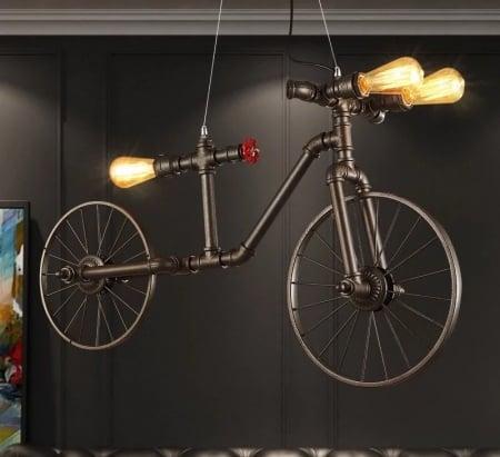 Подвес потолочный Industrial Bike l95 h55см