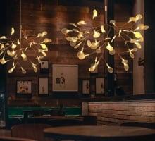 Люстра LED Petals Copper D72/H45