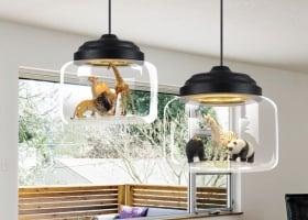 Подвес LED Animals Black D25/H17