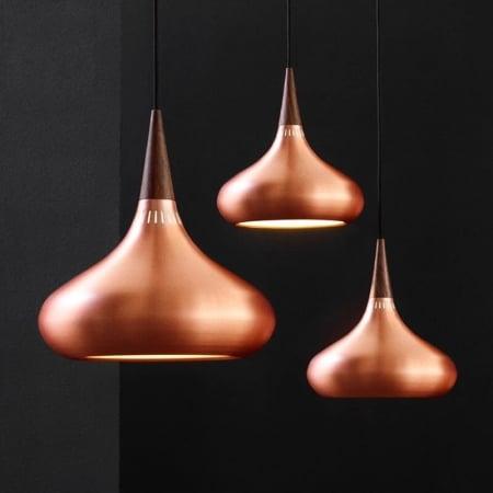 Светильник потолочный Orient copper d34см