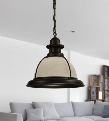 Светильник потолочный Bowler d33 h28см