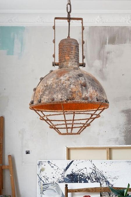 Светильник потолочный Bathyscaphe old d-30см