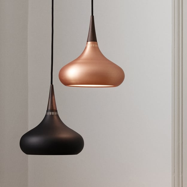 Светильник потолочный Orient Black d34см