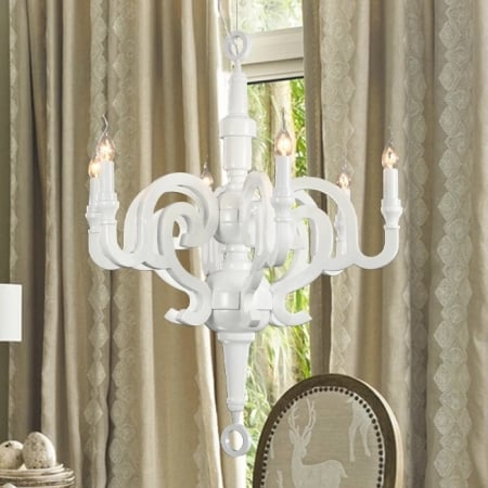 Люстра Paper Chandelier White d70 h74cm