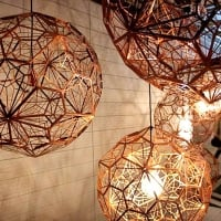 Светильник потолочный etch web 1-шт d-30см