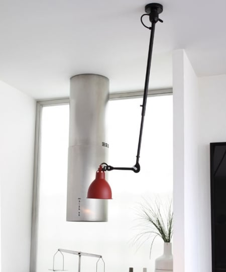 Светильник потолочный на шарнире Red d14,5 h126см