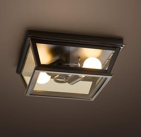 Светильник потолочный Square l36 h17cm