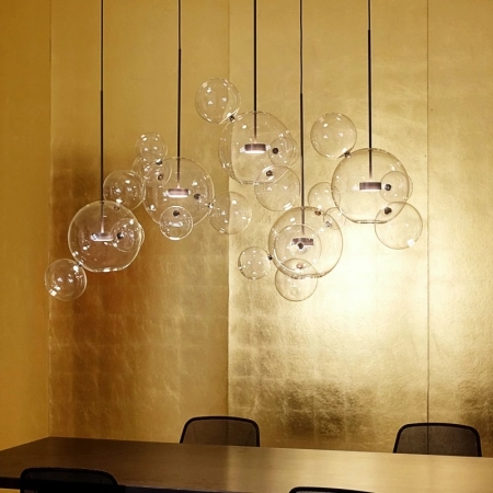 Потолочный светильник Bubbles Clear 5+1 1шт