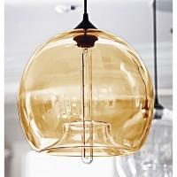 Подвес Loft Glass Amber D30/H27