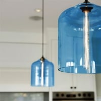 Комплект подвесов Glass Blue 13шт