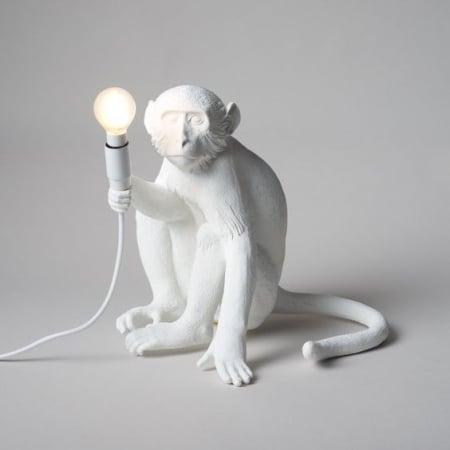 Настольный светильник Sitting Monkey h32cm