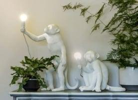 Настольный светильник Sitting Monkey H32cм