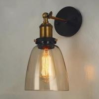 Бра loft Black/Amber d14см