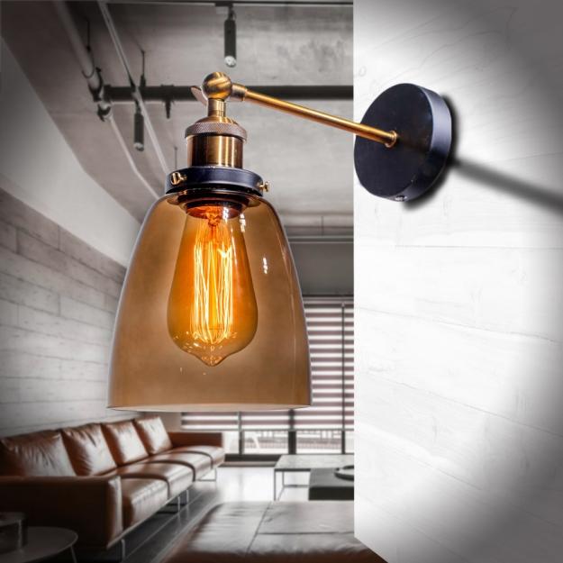 Бра loft Black/Coffee d14