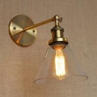 Бра Loft Gold/Clear d18cm