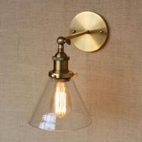 Бра Loft Gold/Clear d18