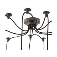 Люстра Black Spider 8 патронов