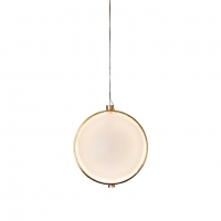 Подвес LED Sphere White/Gold D28/H28