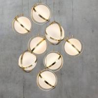 Подвес LED Sphere White/Gold D28/H28 (Распродажа склад Львов)