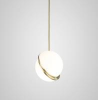 Подвес Semicircle White/Gold D20/H20
