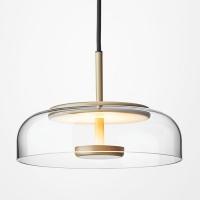 Подвес LED Jellyfish Gold/Clear D23