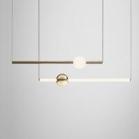 Подвес LED Elements Gold/White L60/W10 (2)