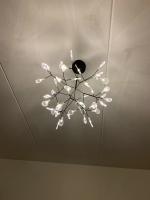 Люстра LED Petals Black D98/H65 (Ожидаемый товар)