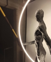 Торшер LED Man Ring H215