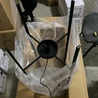 Торшер Glass Oval Amber H140