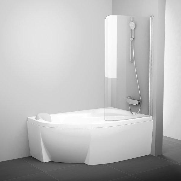 Штора на ванну Ravak CVSK1 Rosa-160/170 L сатин