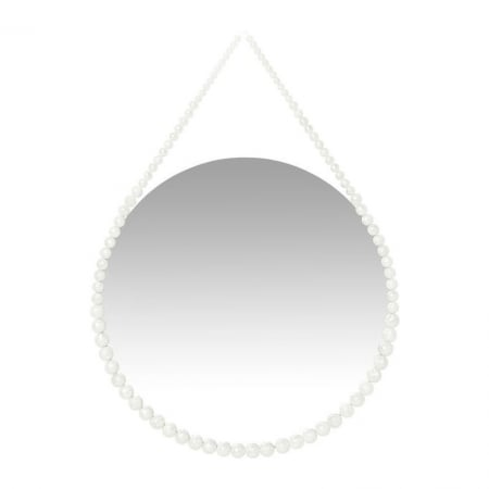 Mirror White Pearl Ø50cm