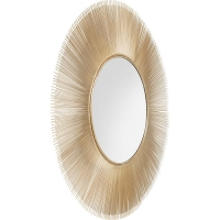 Mirror Sunburst Tre Gold Ø120cm